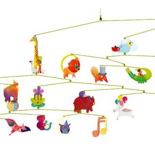 Djeco Djeco mobiel - dierencarnaval DD04318