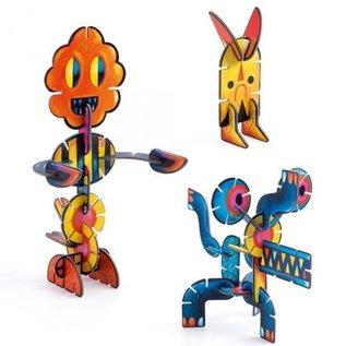 Djeco Djeco 3D knutselpakket Volubo Dieren (36 stk)