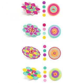 Djeco Djeco knutselset tollen maken - bloemen  DJ07940