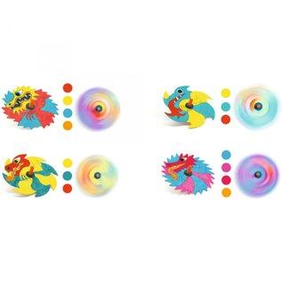 Djeco Djeco knutselset tollen maken - draken DJ07941