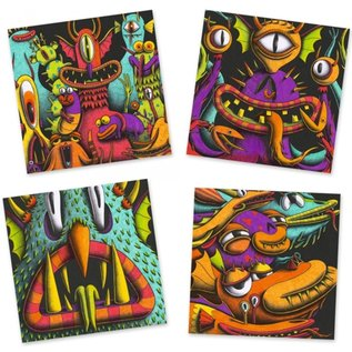 Djeco Djeco 3D kleuren - Funny Freaks DJ08651