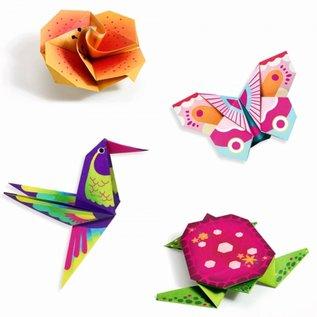 Djeco Djeco Origami - Tropische dieren DJ08754