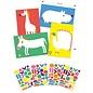 Djeco Djeco Knutselset - Creëren met stickers - Grote dieren DJ09046