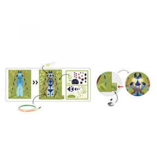 Djeco Djeco Knutselset elektro - Insectarium DJ09315