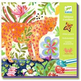 Djeco Djeco Glitterschilderijen - Tropico