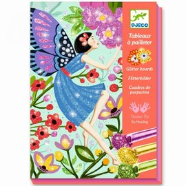 Djeco Djeco Glitterschilderijen - Het leven van de feeën