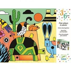 Djeco Djeco Fluwelen kleurplaten - Colorado