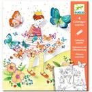 Djeco Djeco Kleuren die verrassen - Lady Butterfly