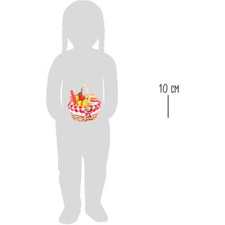 Small Foot Mandje met gesneden eten