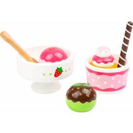 Small Foot Houten ijsjes set