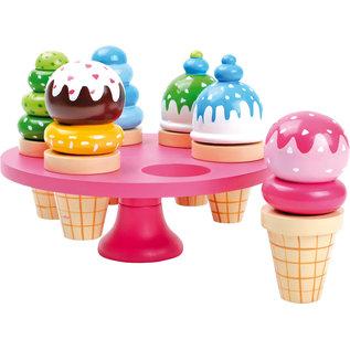 Small Foot Houten ijsjes in standaard
