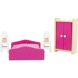 Small Foot Poppenhuis meubels Slaapkamer