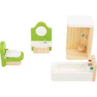 Small Foot Poppenhuis meubels Badkamer