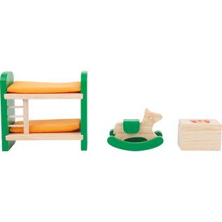 Small Foot Poppenhuis meubels Kinderslaapkamer