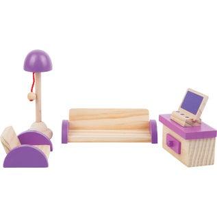 Small Foot Poppenhuis meubels Woonkamer