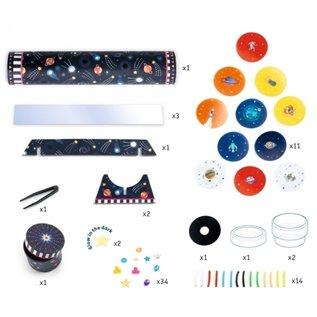 Djeco Djeco knutselset Caleidoscoop - Space DJ07922