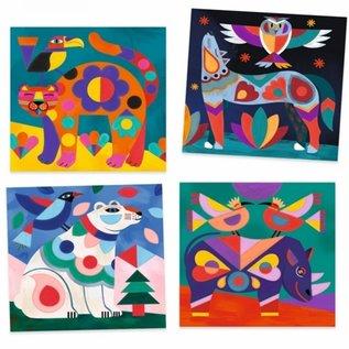 Djeco Djeco Schilderen op kleur - Dieren DJ09658