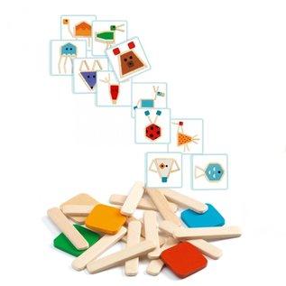 Djeco Djeco puzzelsticks - 38 stukjes DJ06212