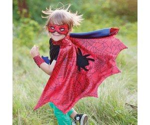 Great Pretenders Spiderman cape set (cape, masker, armbanden) 3-4 jaar 53272