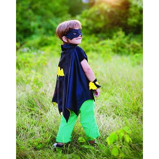 Great Pretenders Great Pretenders Batman cape set (cape, masker, armbanden) 3-4 jaar 53292