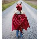 Great Pretenders Great Pretenders drakencape rood (5-6 jaar)