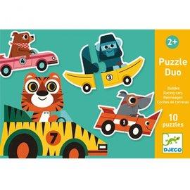 Djeco Djeco Duo Puzzels - Racewagens