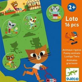 Djeco Djeco Lotto - Grappige dieren