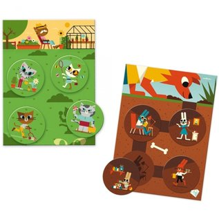 Djeco Djeco Lotto - Grappige dieren DJ08127