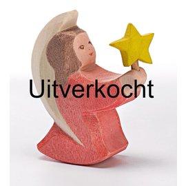Ostheimer Ostheimer engel roze met ster