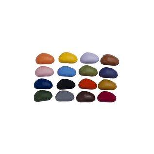 Crayon Rocks Crayon Rocks (16) in een ecru katoenen zakje