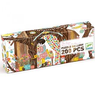 Djeco Djeco puzzel Boomhuis - 200 stukjes DJ07641