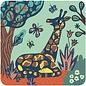Djeco Djeco kraskaarten - Jungle dieren DJ09095