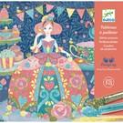 Djeco Djeco Glitterschilderijen - Dagdromen