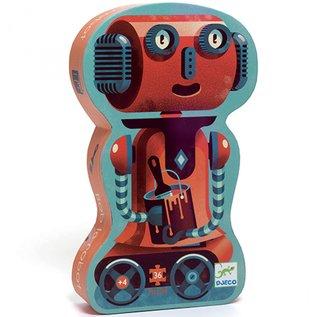 Djeco Djeco puzzel - Bob de robot - 36 stukjes DJ07239