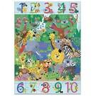 Djeco Djeco puzzel - Jungle 1 tot 10 - 54 stukjes