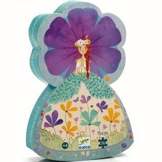Djeco Djeco puzzel - Bloemenprinses 36 stukjes DJ07238