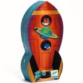 Djeco Djeco puzzel - Raket - 16 stukjes
