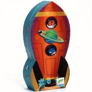 Djeco Djeco puzzel - Raket - 16 stukjes DJ07271