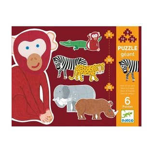 Djeco Djeco puzzel - Henri en zijn vrienden DJ07147