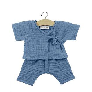 Minikane Minikane Kimono Niko blauw