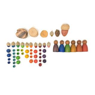 Grapat Grapat 3 donkere Nins® koele kleuren 18-188