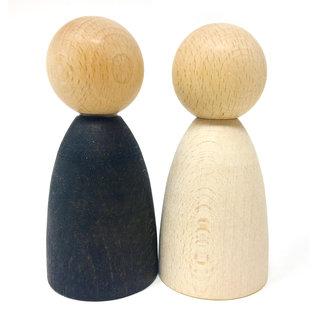 Grapat Grapat Set 2 grote Nins® licht hout 18-181B