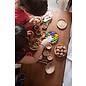 Grapat Grapat Houten bakjes met knikkers 15-106