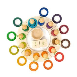 Grapat Grapat Gekleurde ringen 12 stuks 18-187