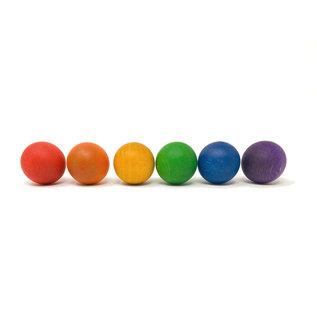 Grapat Grapat 6 regenboog ballen 16-126