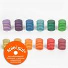 Grapat Grapat Gekleurde muntjes 72 stuks