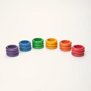 Grapat Grapat Houten ringen 18 stuks 15-115