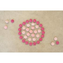 Grapat Grapat Mandala bloemen roze