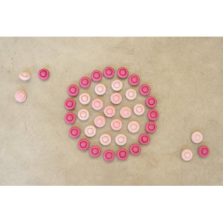 Grapat Grapat Mandala bloemen roze 18-203