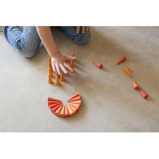 Grapat Grapat Mandala kegels oranje 19-206